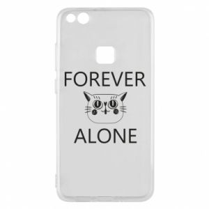 Phone case for Huawei P10 Lite Forever alone - PrintSalon