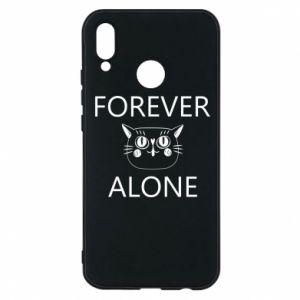 Phone case for Huawei P20 Lite Forever alone - PrintSalon