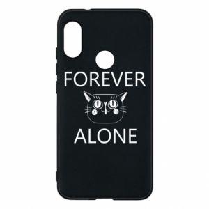 Phone case for Mi A2 Lite Forever alone - PrintSalon