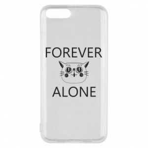Phone case for Xiaomi Mi6 Forever alone - PrintSalon