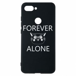 Phone case for Xiaomi Mi8 Lite Forever alone - PrintSalon