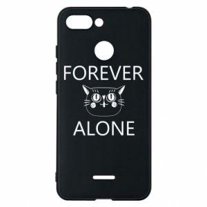 Phone case for Xiaomi Redmi 6 Forever alone - PrintSalon