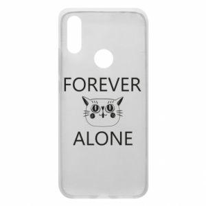 Phone case for Xiaomi Redmi 7 Forever alone - PrintSalon