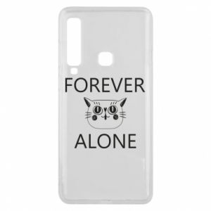 Phone case for Samsung A9 2018 Forever alone - PrintSalon
