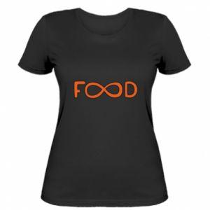 Damska koszulka Forever food