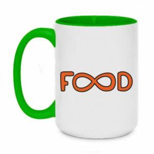 Kubek dwukolorowy 450ml Forever food