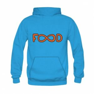 Bluza z kapturem dziecięca Forever food