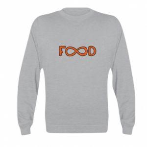 Bluza dziecięca Forever food