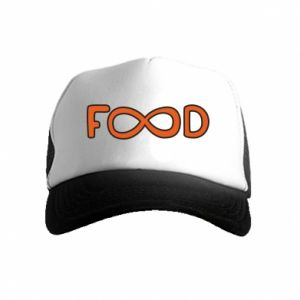 Czapka trucker dziecięca Forever food