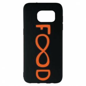 Etui na Samsung S7 EDGE Forever food