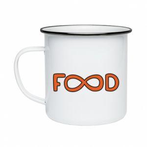 Kubek emaliowany Forever food