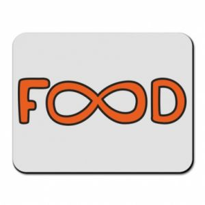 Mouse pad Forever food - PrintSalon
