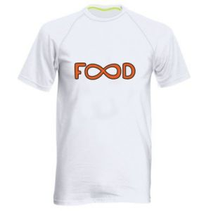 Men's sports t-shirt Forever food