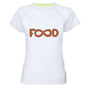 Women's sports t-shirt Forever food