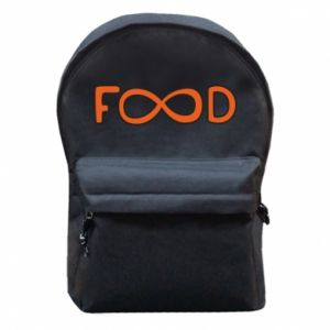 Backpack with front pocket Forever food