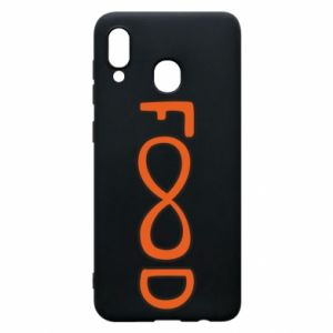Phone case for Samsung A20 Forever food - PrintSalon