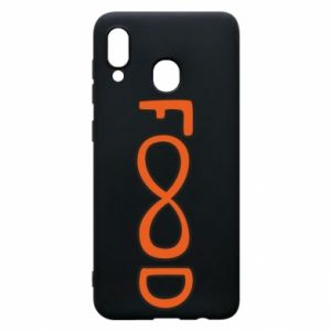 Phone case for Samsung A30 Forever food - PrintSalon