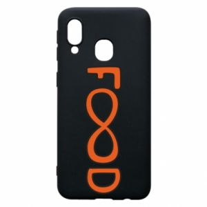 Phone case for Samsung A40 Forever food - PrintSalon