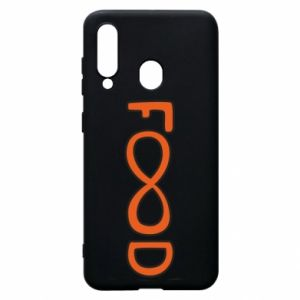 Phone case for Samsung A60 Forever food - PrintSalon