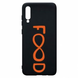 Phone case for Samsung A70 Forever food - PrintSalon