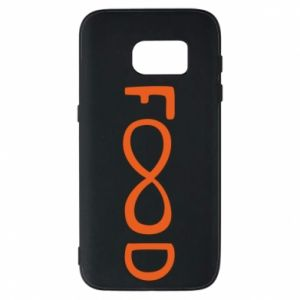 Phone case for Samsung S7 Forever food