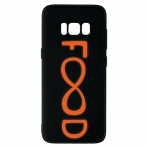 Phone case for Samsung S8 Forever food