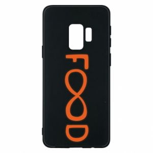Phone case for Samsung S9 Forever food
