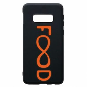 Phone case for Samsung S10e Forever food