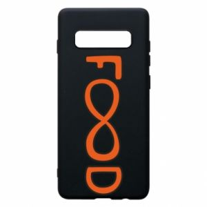 Phone case for Samsung S10+ Forever food