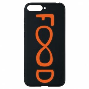 Phone case for Huawei Y6 2018 Forever food - PrintSalon