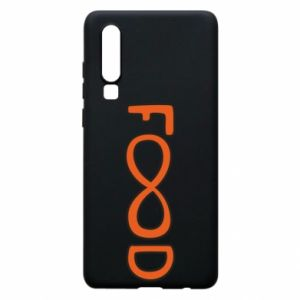 Phone case for Huawei P30 Forever food - PrintSalon