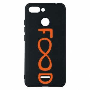 Phone case for Xiaomi Redmi 6 Forever food