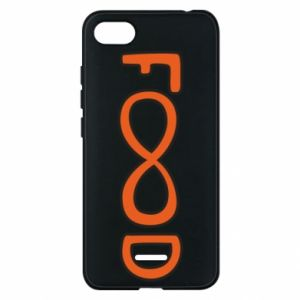 Phone case for Xiaomi Redmi 6A Forever food