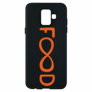 Phone case for Samsung A6 2018 Forever food - PrintSalon