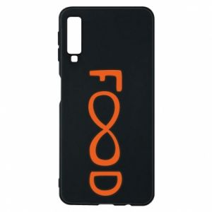 Phone case for Samsung A7 2018 Forever food - PrintSalon