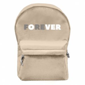 Backpack with front pocket Forever over