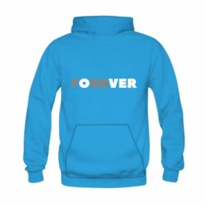 Kid's hoodie Forever over