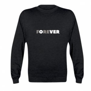 Kid's sweatshirt Forever over