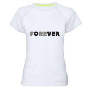 Damska koszulka sportowa Forever over