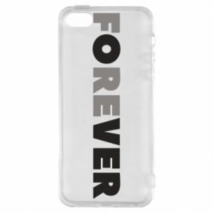Phone case for iPhone 5/5S/SE Forever over