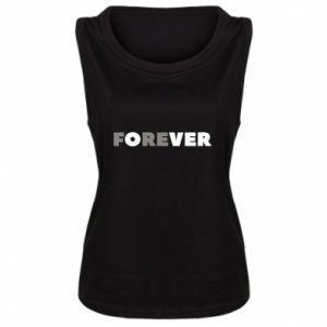 Damska koszulka bez rękawów Forever over