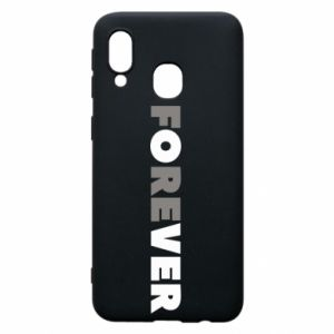 Phone case for Samsung A40 Forever over