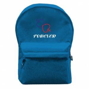 Plecak z przednią kieszenią Forever