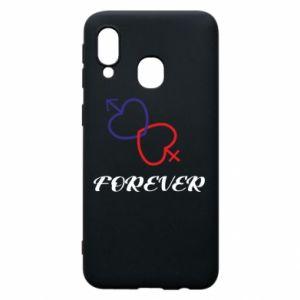 Etui na Samsung A40 Forever