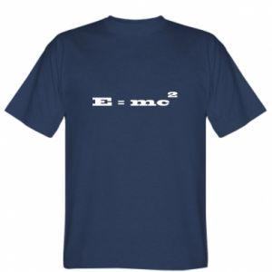 Koszulka E = mc2