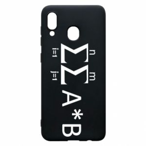 Samsung A20 Case Formula