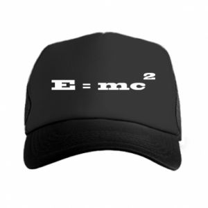 Czapka trucker E = mc2