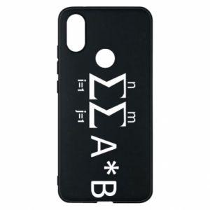 Xiaomi Mi A2 Case Formula