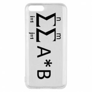 Xiaomi Mi6 Case Formula