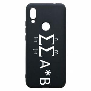 Xiaomi Redmi 7 Case Formula